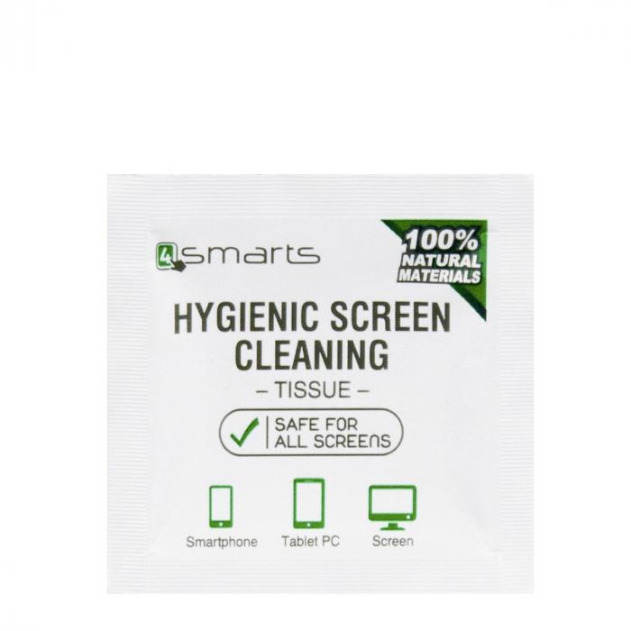 servetel umed antibacterian 4smarts pentru curatare ecran