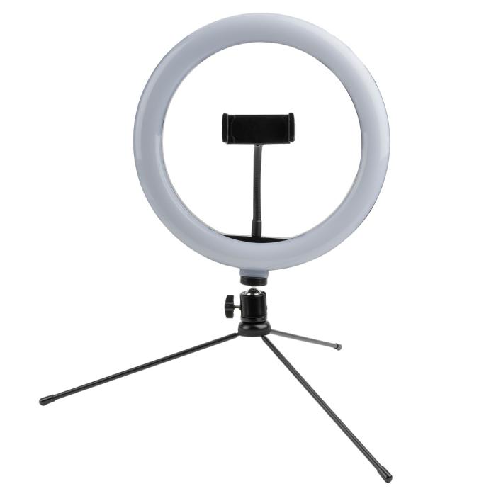 tripod loomipod mini cu lampa led ring light 4smarts