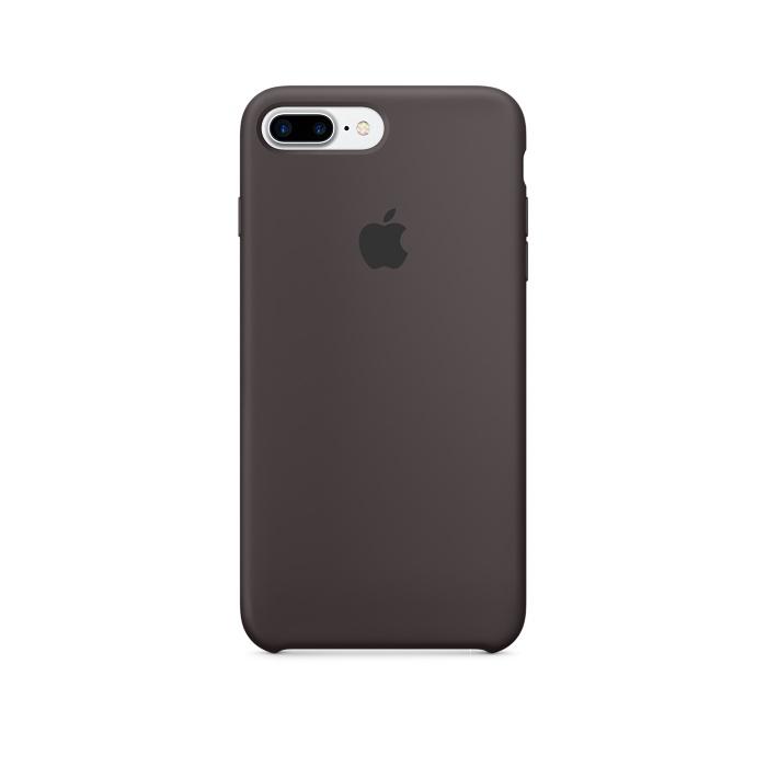 husa silicon apple iphone 8 plus/7 plus cocoa mmt12zm/a