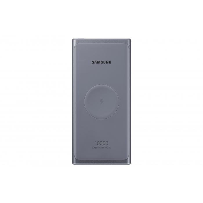 Samsung Acumulator Extern Rapid Wireless 25W 10000 mAh Dual Port USB-C