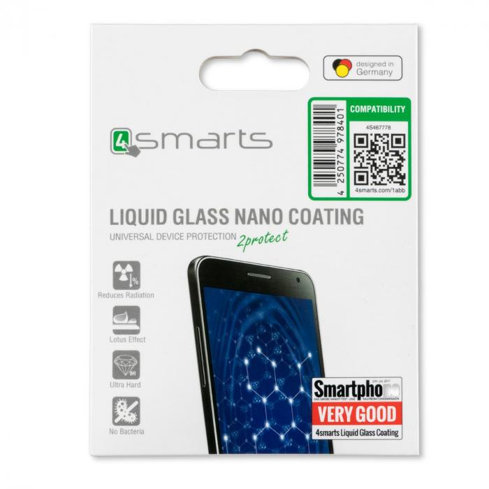 sticla lichida 4smarts pentru protectia fina a ecranului