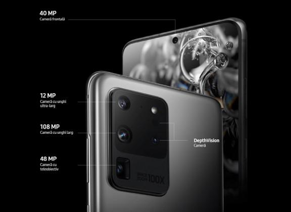 Samsung Galaxy S20 pariaza pe revolutia audio-video